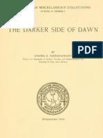 87506844 Coomaraswamy the Darker Side of Dawn