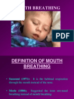 Mouth Breathing