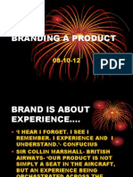 Branding Of product ppt