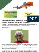 Após pagar fiança, Marcelinho Paraíba é liberado; jogador foi detido por agredir ex-mulher