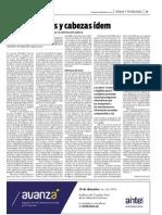 Datos Abiertos y cabezas ídem - la diaria - 14/12/2012
