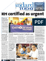 Manila Standard Today - Saturday (December 15, 2012) Issue