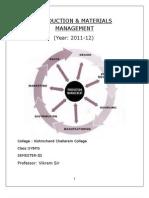 Production Management Final Hardcopy