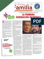EL AMIGO DE LA FAMILIA - DOMINGO 16 DICIEMBRE DE 2012