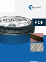 belt for tyre industry