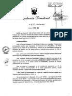 DESIGNAN GOBERNADOR DEL DISTRITO DE CHOCOPE