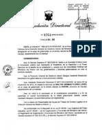 DESIGNAN GOBERNADOR DEL DISTRITO DE RAZURI