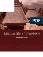 Land and Life in Timor Leste Ethnographic Essays