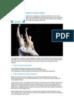 Beginner's Guide to Ballet