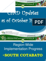 South Cotabato Province-Wide Updates Oct. 2012