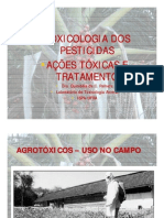 toxicologia dos pesticidas