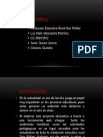 Power Point Proyecto Cpe Mary Luz