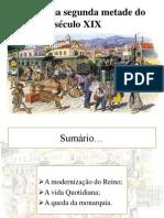 Portugal na segunda metade do  século XIX