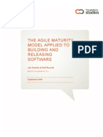 Agile Maturity Model Applied to Building and Releasing Software