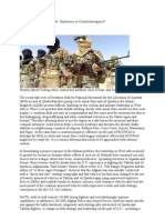 Insurgency in Northern Mali Diplomacy or Counterinsurgency