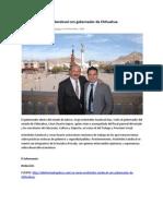 14-12-12 Se reúne Aristóteles Sandoval con gobernador de Chihuahua