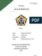 Makalah Hidrologi Ilham 030