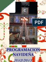 Programa de navidad de Morata de Tajuña 2012