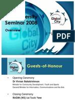 PreU Sem 2008 Overview