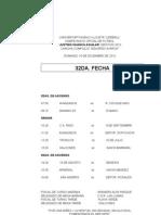 Campeonato 2012 Fixture 32