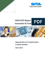 CAPA-SITA Report on Innovation & Technology