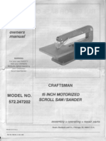 Craftsman Scroll Saw Manual