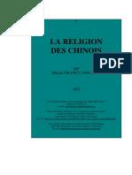 1922 - Granet Marcel - Religion Des Chinois