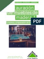Bricolage - Restauracion de Muebles de Madera 01