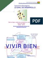 Bolivia- Plan Nacional de Desarrollo 2006-2010