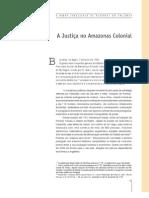 A Justiça no Amazonas Colonial