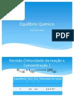 133107-Aula_Equilíbrio_Químico