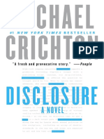 DISCLOSURE by Michael Crichton, Excerpt