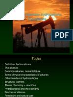 Organic Chemistry Alkanes