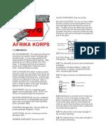 AfrikaKorps 3d Ed Rules