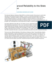 Linking Enhanced Reliability to the State of Lubrication
