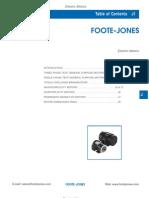 Foote-Jones Electric motors Motors