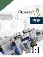GrowoniX Catalog 2013