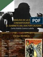 ANÁLISIS DE LA OBRA CINEMATOGRÁFICA