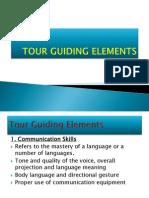 Tour Guiding Elements