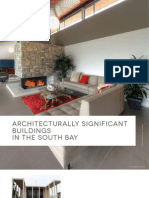 Architecturally Significant Buildings in the Southbay