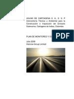 PLAN DE MONITOREO Y CONTROL S&SO