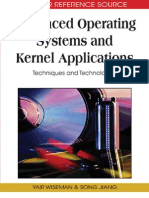 Advanced Operating Systems and Kernel Applications Techniques and Technologies