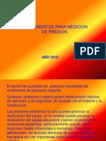 Intrumentos Para Medicion de Presion(Actualizado)2012