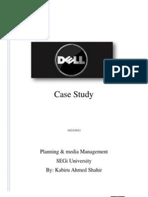 dell case study strategic management