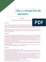Prostitucion y Corrupcion de Menores