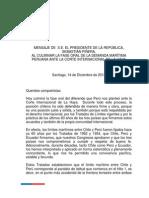 Mensaje a la Nación - Chile