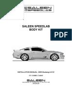 Saleen Speedlab Body Kit Installation Manual - Rev D[2]