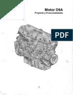 Motor Volvo D9A 2003