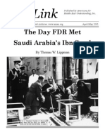 The Day FDR Met  Saudi Arabia's Ibn Saud
