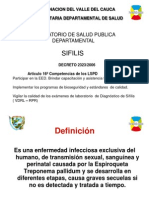Manejo Integra Sifilis -Lab